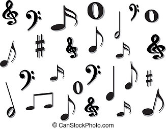 Music notes - music notes