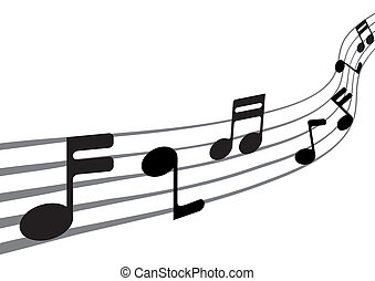 Music Notes (XXL) - Music Notes (illustration)