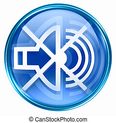 music off icon blue