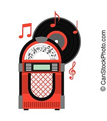 music old design, vector illustration eps10 graphic