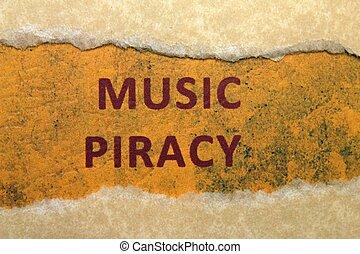 Music piracy