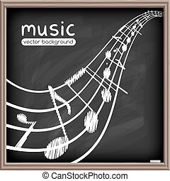 Music poster template