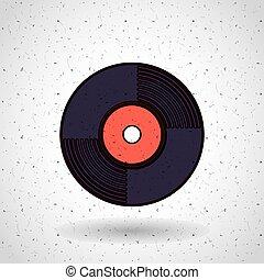 music record design
