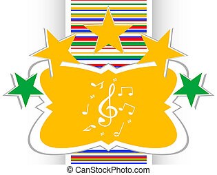 music round glossy web icon. musical sign