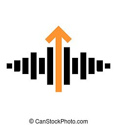 Music Signal Concept Icon