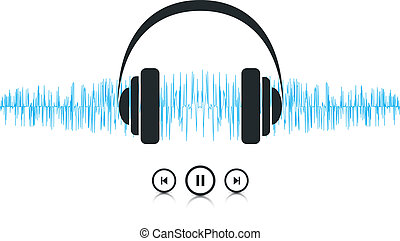 Music Sound Waves - This image is a vector file representing...