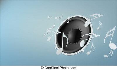 Music speaker.
