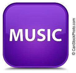 Music special purple square button