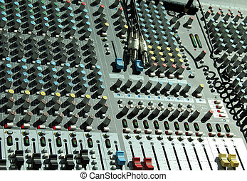 Professional Music Studio Equipment Closeup Musical Picture