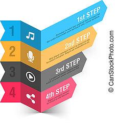 Music theme design element