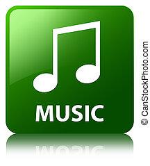 Music (tune icon) green square button
