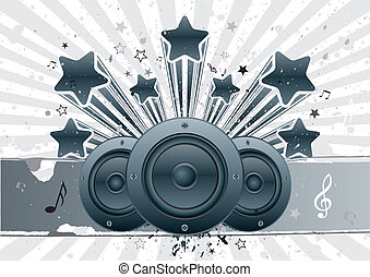 music vector background