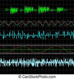 Music waves