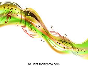 musica, astratto
