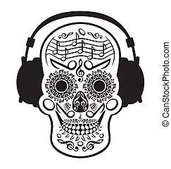 musica, cranio