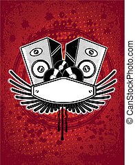 musica, emblema