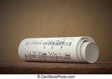 musica foglio