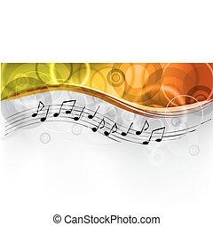 musica, fondo