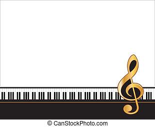 musica, intrattenimento, manifesto, cornice