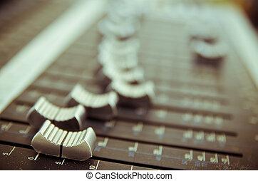 musica, miscelatore