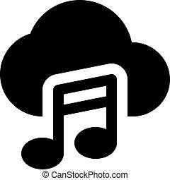 musica, nuvola