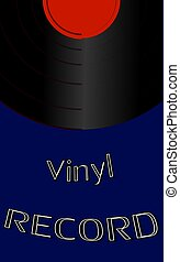 Musical audio is an old vintage retro hipster , 70's, 80's, 90's and copy space. Vector illustration