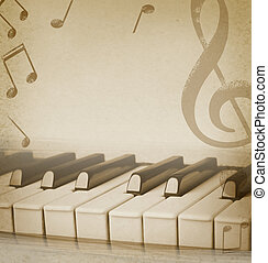 musical background