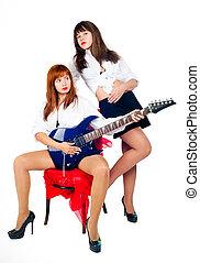 Musical band of girls