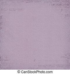 musical border on mauve texture