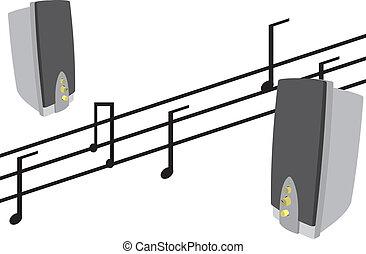 musical, colunas