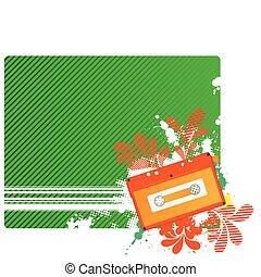Musical composition audiocassette.