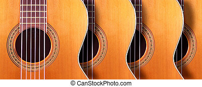 Musical design with acoustic guitar