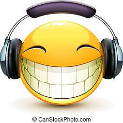 musical, emoticon