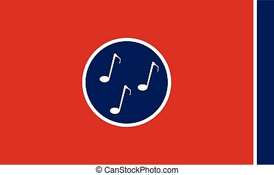 Musical Flag of Tennessee