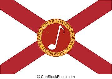 Musical Florida State Flag