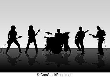 musical, grupo