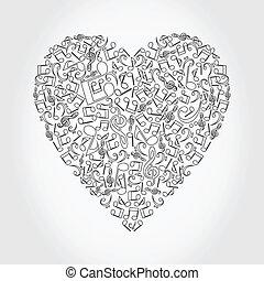 Musical heart4