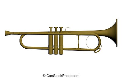 Musical instrument trumpet