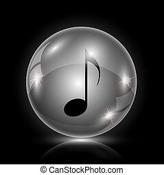 Musical note icon