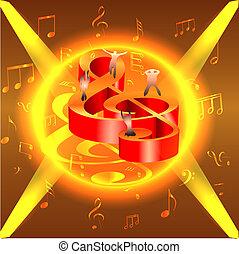 musical, nots