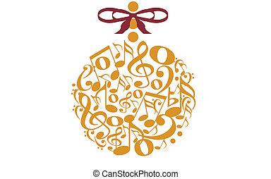 Musical Christmas Tree Stock Illustrations 352 Musical Christmas