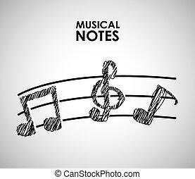musical poster design, vector illustration eps10 graphic