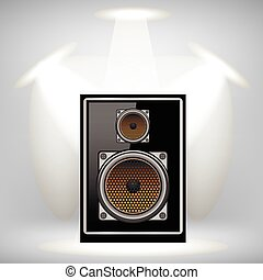 Musical Speaker Icon