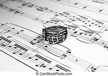 musical symbolism, accidentals