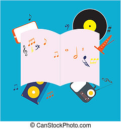 musicale, blocco note
