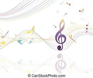 musicale, disegno