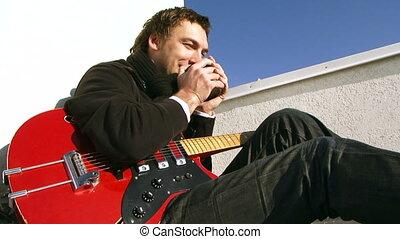 Musician for a break