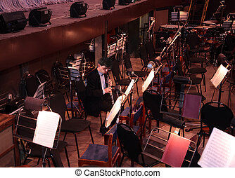 musician in orchestra
