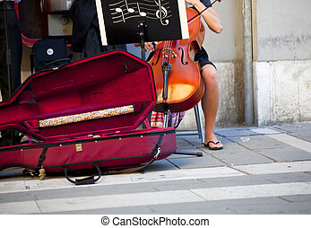 Musician in the street