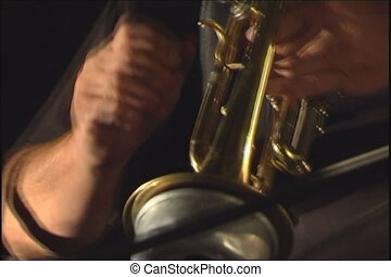 Musician. - Trumpet player.
